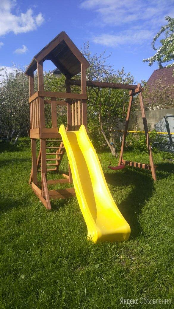 Детская игровая площадка от производителя по цене 29900₽ - Игровые и спортивные комплексы и горки, фото 0