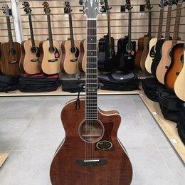 Акустические и классические гитары - Электро-акустическая гитара Cort GA5F-FMH-OP, 0
