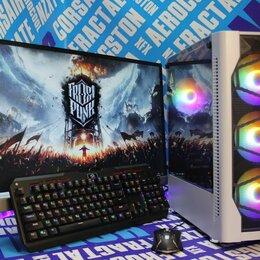 Настольные компьютеры - Новый Игровой ПК i3 10105F-gtx1650super 8гб 480SSD, 0