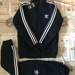 Спортивные костюмы - Утеплённый костюм Adidas - Новый(синий), 0