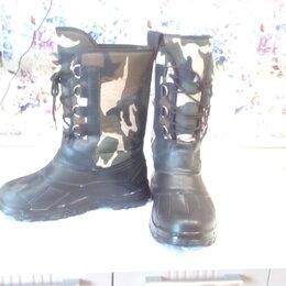 Одежда и обувь - Сапоги резиновые, размер 46, для рыбалки и охоты. , 0