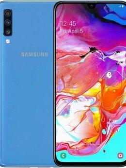 Мобильные телефоны - Samsung Galaxy A70 6/128GB Blue (A705F-DS), 0