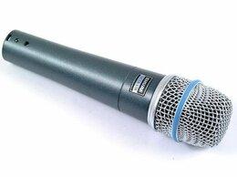 Микрофоны - SHURE BETA 57A инструментальный микрофон, 0