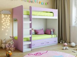 Кроватки - Кровать детская двухъярусная КР-2, 0