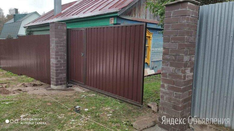 """Ворота откатные автоматические. Изготовление, монтаж """"под ключ"""", гарантия по цене 32000₽ - Заборы, ворота и элементы, фото 0"""