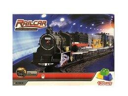 Детские железные дороги - Железная дорога HQ 120 деталей, с локомотивом на…, 0