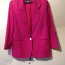 Пиджаки - Малиновый женский пиджак.США, 0