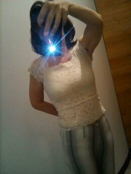 Рубашки и блузы - Блузка летняя для девочки/девушки, разм. 42-44, 0