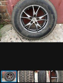 Шины, диски и комплектующие - Комплект зимних шипованных колес с литьем R15, 0