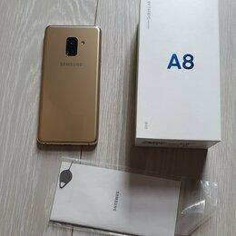 Мобильные телефоны - Телефон Samsung A8, 32 ГБ, 2018, 0