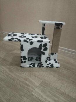 Когтеточки и комплексы  - Когтеточка с домиком для кошки. , 0