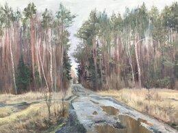 """Картины, постеры, гобелены, панно - Картина маслом на холсте """"Заветинский лес"""", 0"""