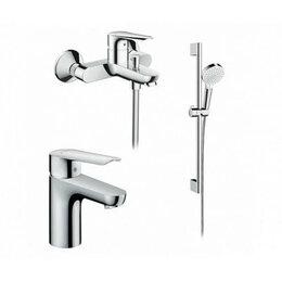Смесители - Комплект смесителей для ванны SetLogis E 100 Hansgrohe 7117800, 0