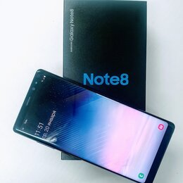Мобильные телефоны - Смартфон Samsung Galaxy Note 8 6Gb 64Gb чёрный бриллиант, 0