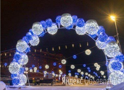 Световая Арка Bubbles (цвет на выбор) по цене 430000₽ - Новогодний декор и аксессуары, фото 0