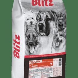 Корма  - Блиц сухой корм для взрослых собак 15 кг., 0
