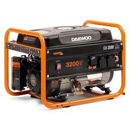 Электрогенераторы - Генератор бензиновый Daewoo (Дэу) GDA 3500, 0