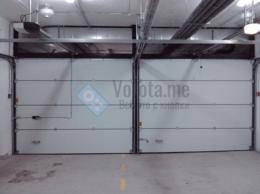 Заборы и ворота - Подъёмные огнестойкие секционные ворота белого…, 0