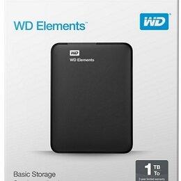 Внешние жесткие диски и SSD - Жесткий диск WD 1тб USB 3.0, 0