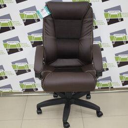 Компьютерные кресла - Кресло компьютерное Оптима кз. коричневый, 0