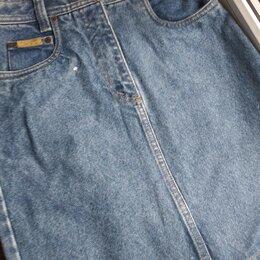 Юбки - Новая фирменная винтажная  джинсовая юбка 30 размера, 0