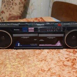 Музыкальные центры,  магнитофоны, магнитолы - Двухкассетная магнитола International AK21, 0