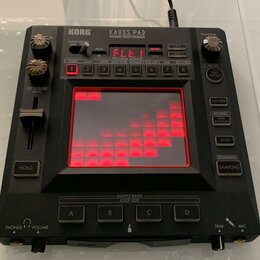 DJ процессоры эффектов - DJ - Эффектор, сэмплер KORG KAOSS PAD KP3+, 0