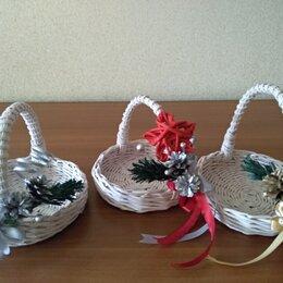 Подарочная упаковка - Корзина новогодняя, 0