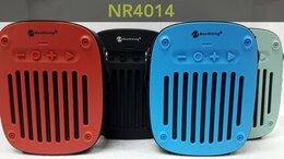 Умные колонки - Портативная Bluetooth колонка NewRixing NR-4014, 0