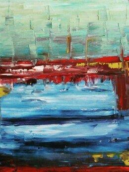 "Картины, постеры, гобелены, панно - The author's painting ""Freedom"", 0"