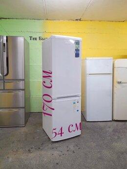 Холодильники - Холодильник узкий Beko б/у белый, 0
