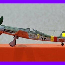 Подарочные наборы - 1/48 модель самолета Фокке-Фульф Та-152 высотный истребитель, 0