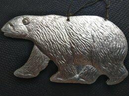 Ёлочные украшения - ✓✓✓Ёлочная игрушка редкая «Белый медведь»10×5…, 0