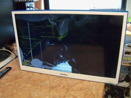 Телевизоры - №005`Goldstar LT-28T409R,матрица повреждена, на…, 0