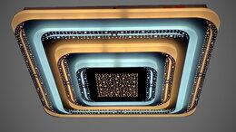 Люстры и потолочные светильники - Светильник LED потолочный 19362/500 204 W с ПДУ, 0