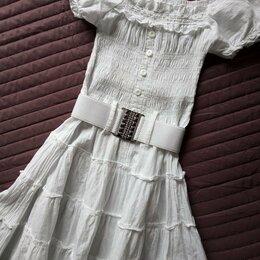 Платья и сарафаны - Платье сарафан для жаркого лета   , 0