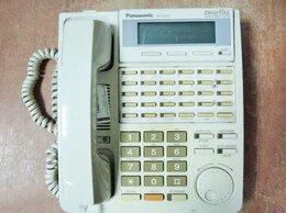 VoIP-оборудование - Цифровой системный телефон Panasonic KX-T7433RUW, 0