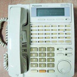 Системные телефоны - Цифровой системный телефон Panasonic KX-T7433RUW, 0