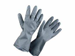 Перчатки и варежки - Перчатки резиновые технические КЩС-2 , 0