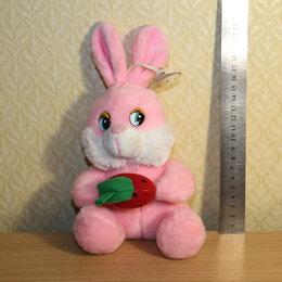 """Мягкие игрушки - Мягкая игрушка """"Зайчик с морковкой"""", 0"""