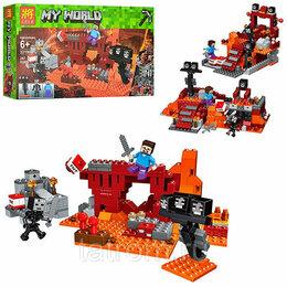 Игровые наборы и фигурки - Конструктор Minecraft My World «Бой в Подземелье», 0