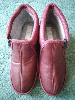 Домашняя обувь - Тапочки женские утеплённые, 0