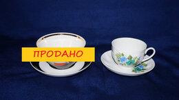 Кружки, блюдца и пары - Чайная пара/кофейная пара фарфор (Дулево) (СССР), 0
