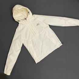 Куртки - Мужская куртка ветровка puma весенняя 46-54 , 0