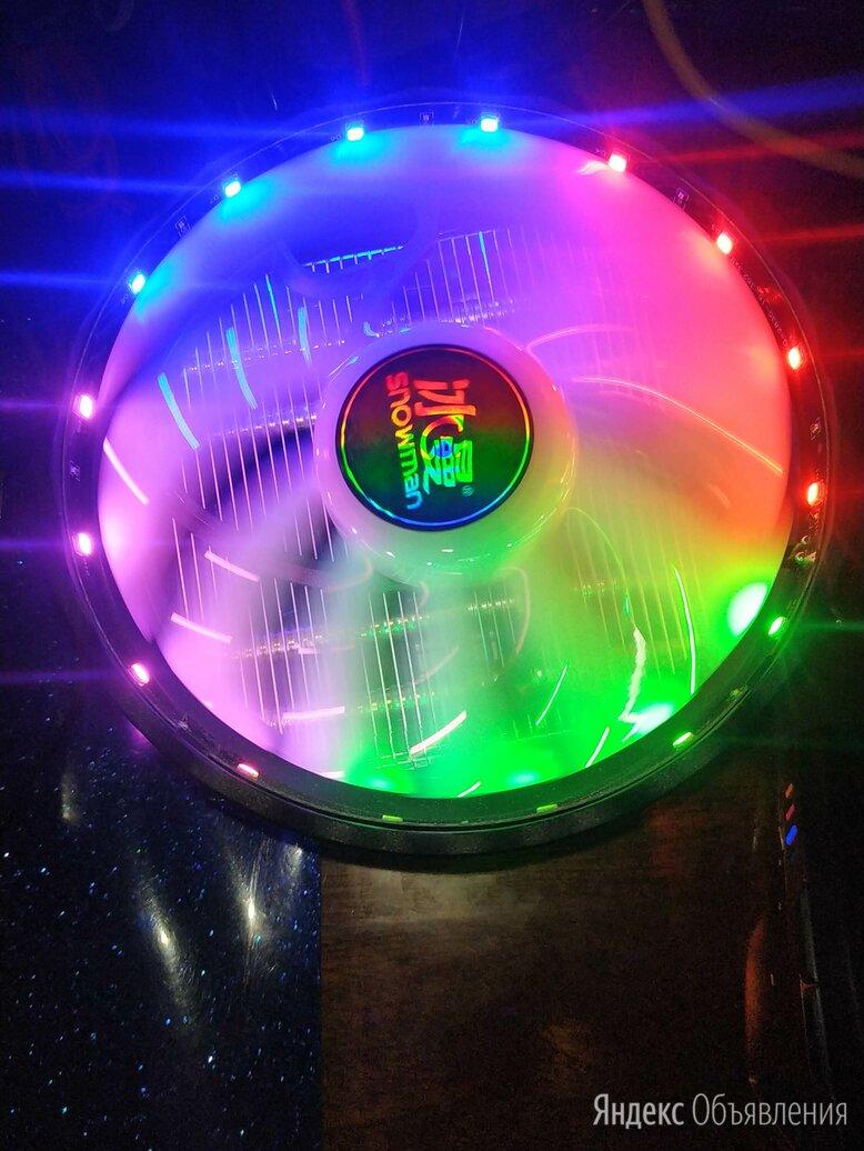 Новые кулера 4 медных термотрубки с подсветкой. по цене 1650₽ - Кулеры и системы охлаждения, фото 0