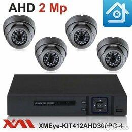 Камеры видеонаблюдения - Видеонаблюдение на 4 камеры 1080p, 0