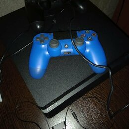 Игровые приставки - PS-4 Slim на 1 TB, 0