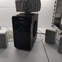 Акустические системы - Аудиосистема sven HT-200, пять колонок, 0