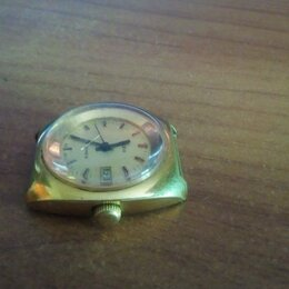 Наручные часы - Часы позолоченные USSR Zaria 22 jewels Au10=, 0