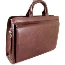 Портфели - Портфель-сумка из кожи RF Brown, 0